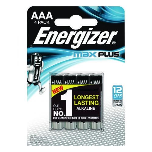 Energizer Max Plus AAA/E92 4-pack