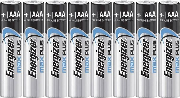 Energizer Max Plus AAA/E92 8-pack