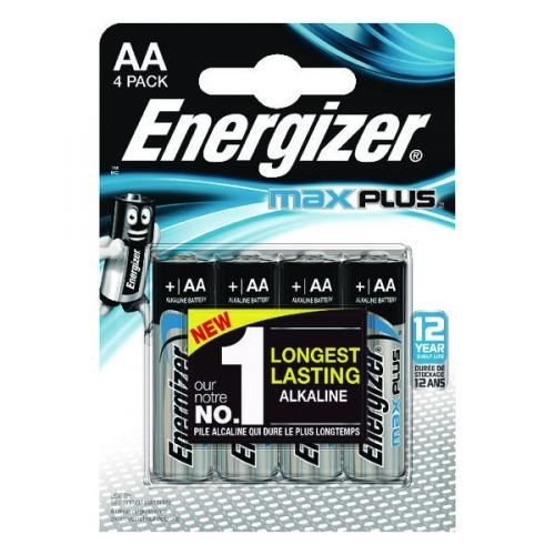 Energizer Max Plus AA/E91 4-pack